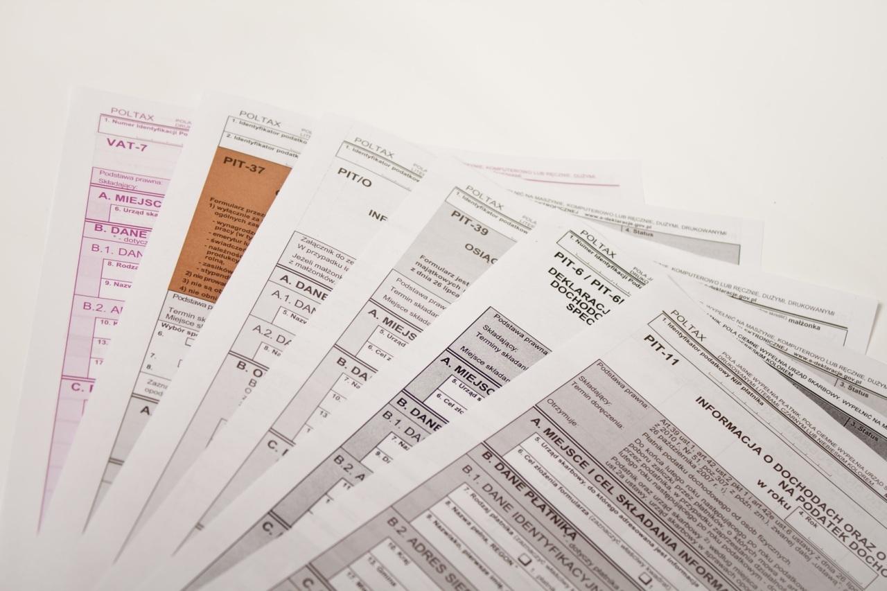 VAT i podatek dochodowy.